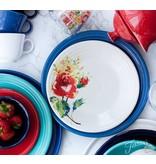 "Luncheon Plate 9"" Floral Bouquet"