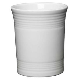 "Utensil Crock 6 5/8"" White"