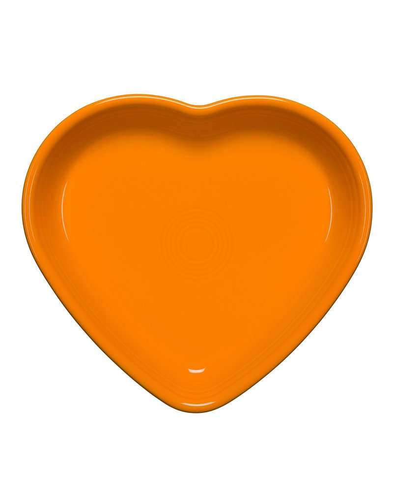The Homer Laughlin China Company Large Heart Bowl 26 oz Butterscotch