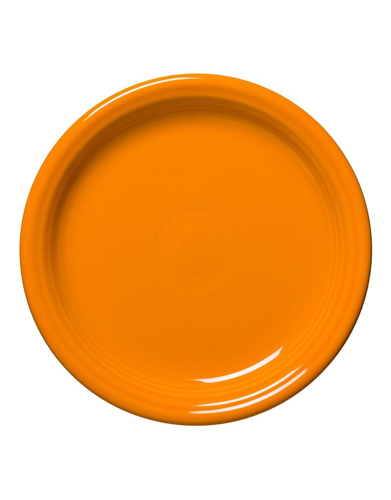 """The Homer Laughlin China Company Bistro Salad Plate 7 1/4"""" Butterscotch"""