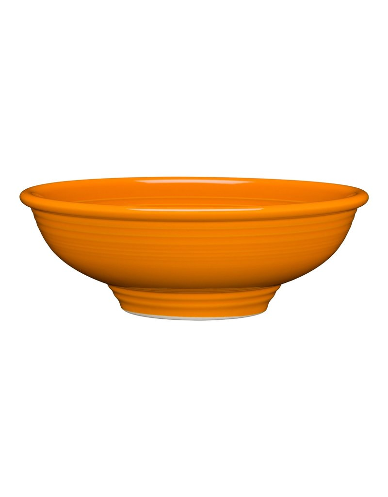 The Homer Laughlin China Company Pedestal Bowl 9 7/8 Butterscotch