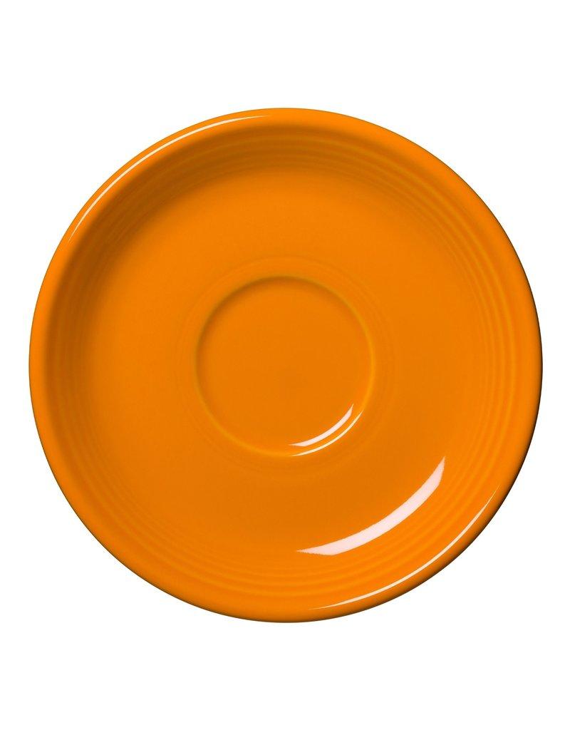 "The Homer Laughlin China Company Saucer 5 7/8"" Butterscotch"