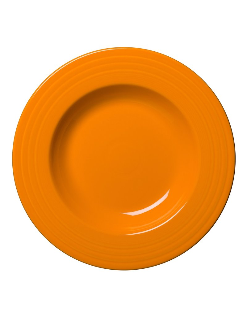 The Homer Laughlin China Company Pasta Bowl 21 oz Butterscotch