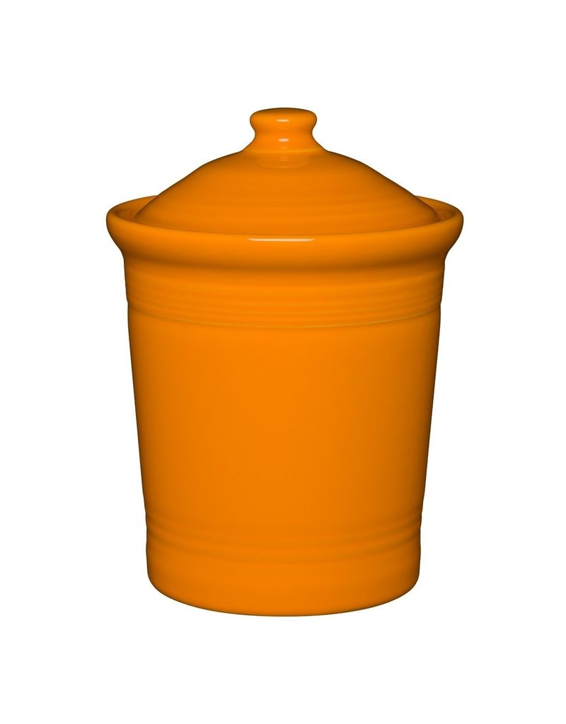 The Homer Laughlin China Company Medium Canister Butterscotch
