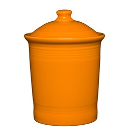 The Homer Laughlin China Company Large Canister Butterscotch