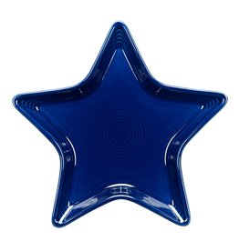The Homer Laughlin China Company Star Plate Cobalt