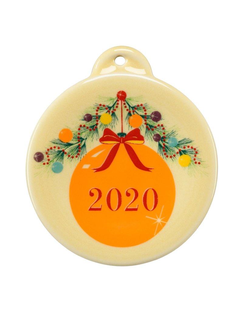 The Homer Laughlin China Company Christmas  Tree 2020 Ornament