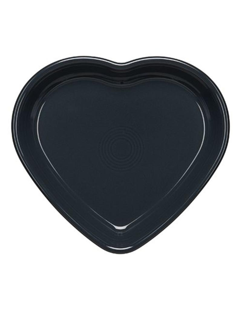 Large Heart Bowl 26 oz Slate