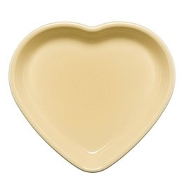 Large Heart Bowl 26 oz Ivory