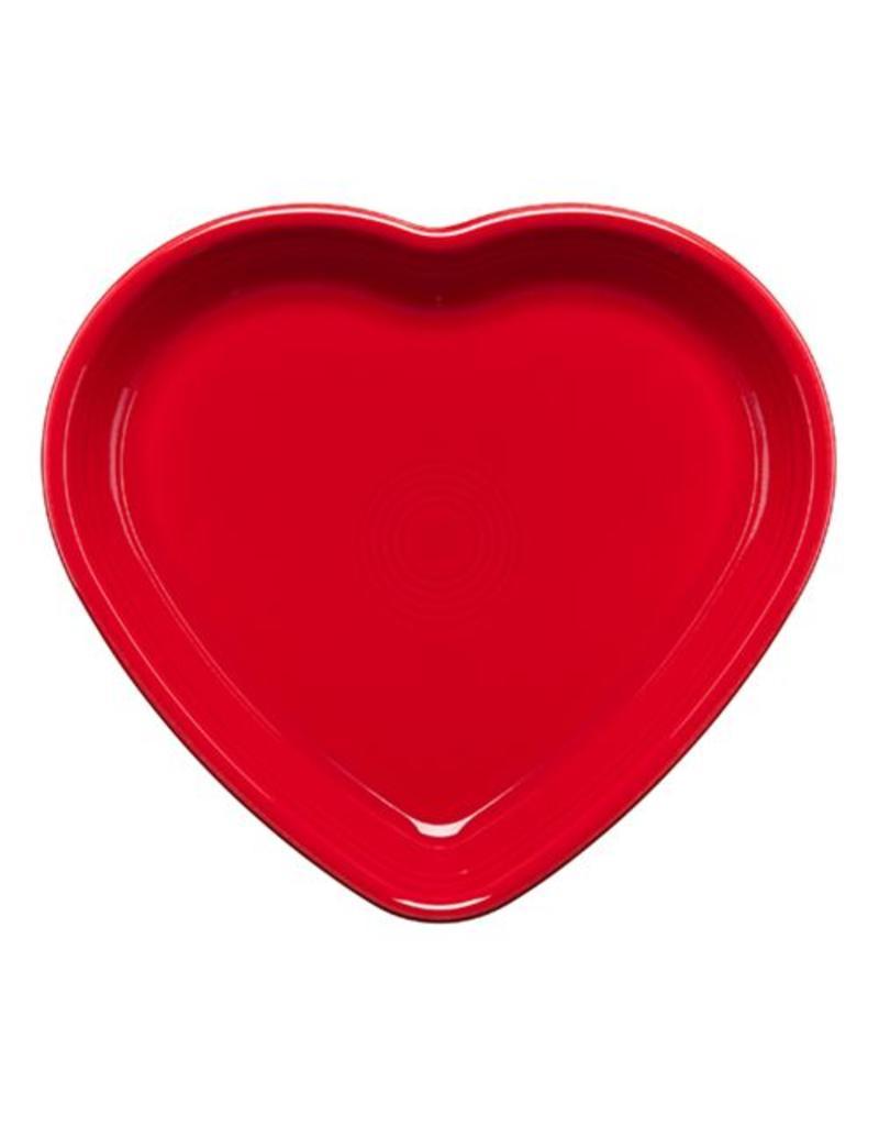 Large Heart Bowl 26 oz Scarlet