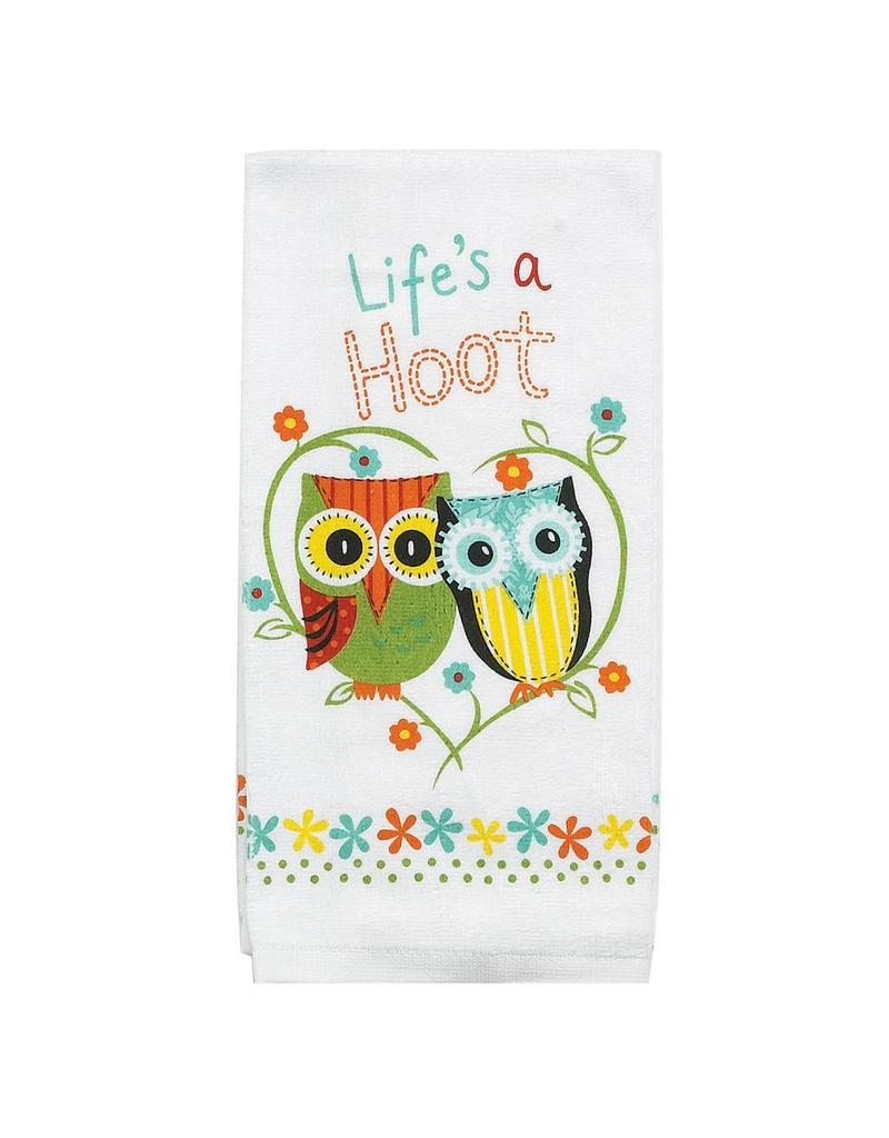 Lifes A Hoot Terry Towel