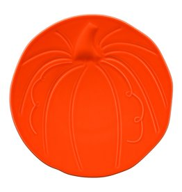 The Homer Laughlin China Company Pumpkin Plate Poppy