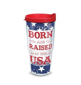 Tervis Born and Raised in the USA 24 oz Tumbler w/lid