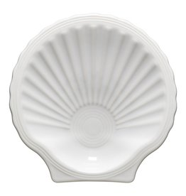 The Homer Laughlin China Company Shell Plate White
