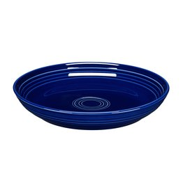 The Fiesta Tableware Company Luncheon Bowl Plate Cobalt Blue