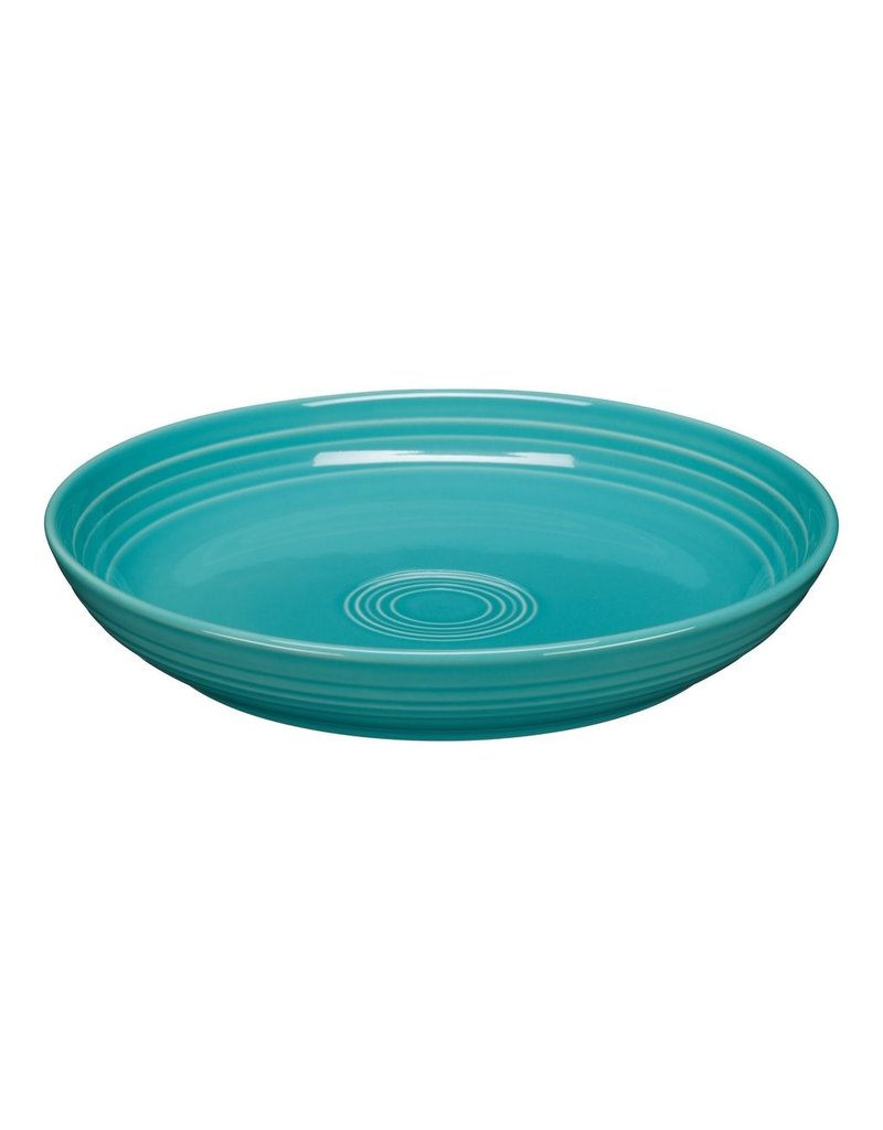 The Fiesta Tableware Company Luncheon Bowl Plate Turquoise