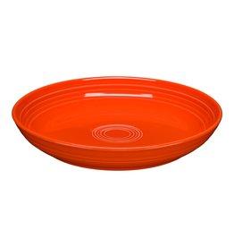 The Fiesta Tableware Company Luncheon Bowl Plate Poppy