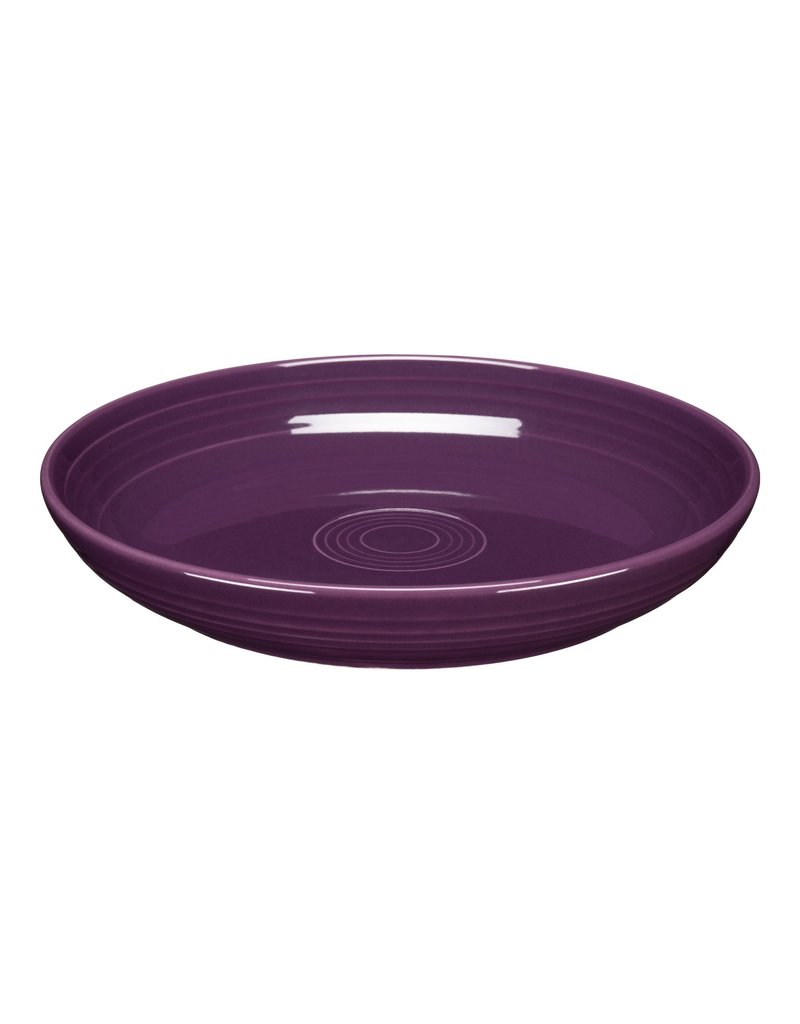 The Fiesta Tableware Company Luncheon Bowl Plate Mulberry