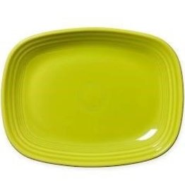The Fiesta Tableware Company Rectangular Platter 11 3/4 Lemongrass