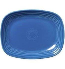 The Fiesta Tableware Company Rectangular Platter 11 3/4 Lapis