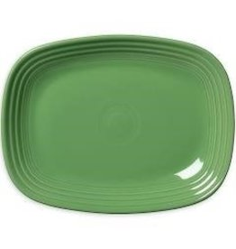 The Fiesta Tableware Company Rectangular Platter 11 3/4 Meadow