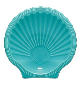 The Fiesta Tableware Company Shell Plate Turquoise