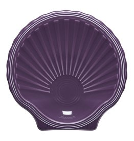 The Fiesta Tableware Company Shell Plate Mulberry