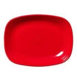 The Fiesta Tableware Company Rectangular Platter 11 3/4 Poppy