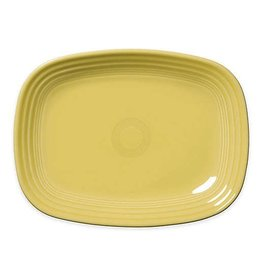 The Fiesta Tableware Company Rectangular Platter 11 3/4 Sunflower
