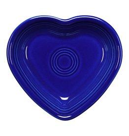 The Fiesta Tableware Company Small Heart Bowl Twilight