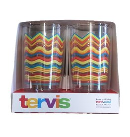 Tervis 4 Pack Poppy Wavy 16 oz Tumblers