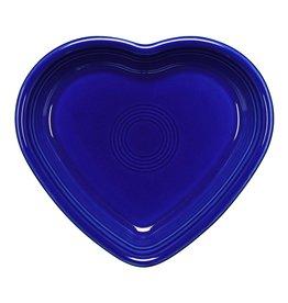 The Fiesta Tableware Company Medium Heart Bowl Twilight
