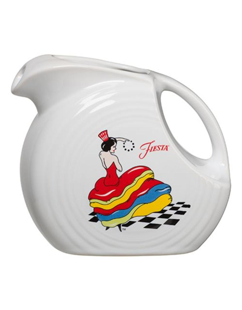 Large Disc Pitcher 67 1/4 oz Dancing Lady