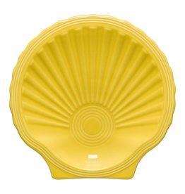 The Fiesta Tableware Company Shell Plate Sunflower