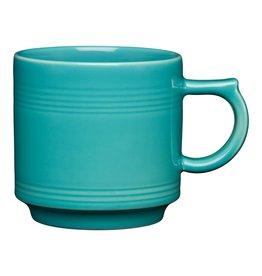 The Fiesta Tableware Company Stacking Mug 16 oz Turquoise