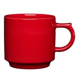 The Fiesta Tableware Company Stacking Mug 16 oz Scarlet