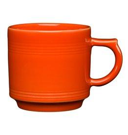 The Fiesta Tableware Company Stacking Mug 16 oz Poppy