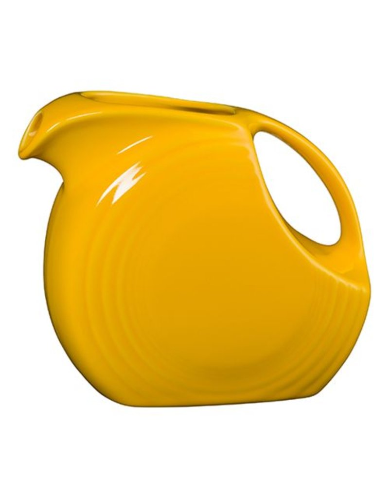 Large Disc Pitcher 67 1/4 oz Daffodil