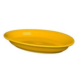 "Large Oval Platter 13 5/8"" Daffodil"