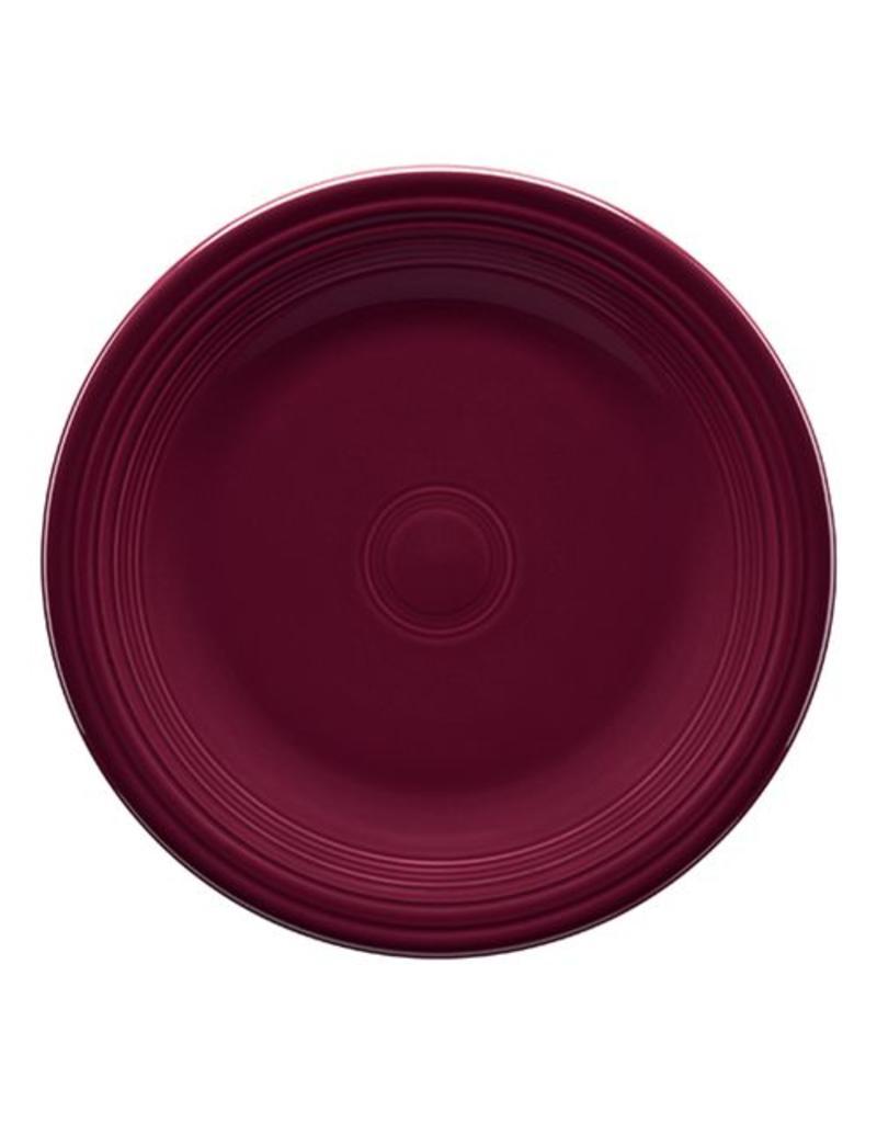 "Luncheon Plate 9"" Claret"
