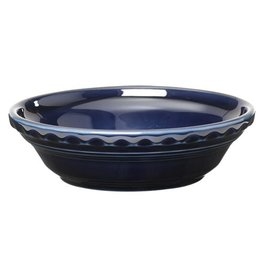 "Small Pie Baker 6 3/8"" Cobalt Blue"
