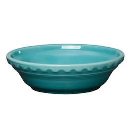 "Small Pie Baker 6 3/8"" Turquoise"