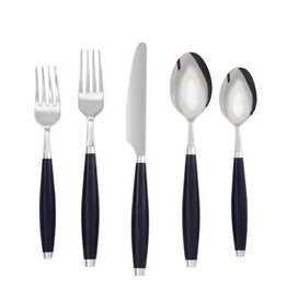 5 pc Flatware Cobalt Blue