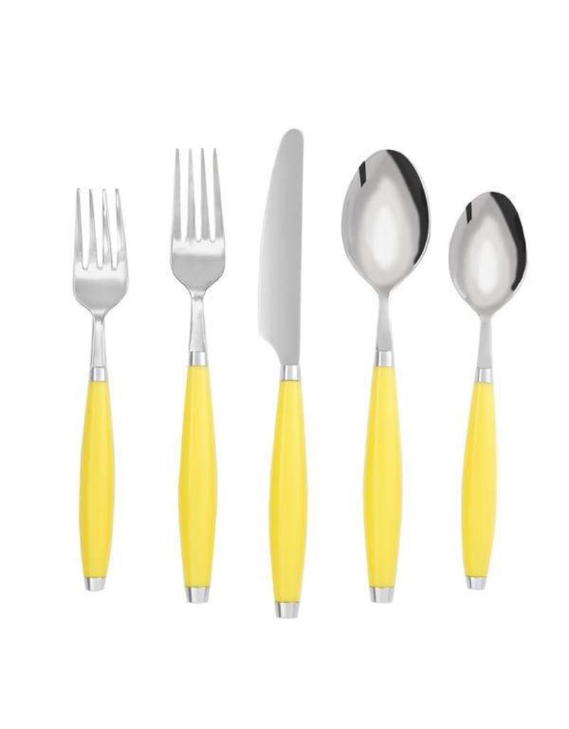 5 pc Flatware Sunflower