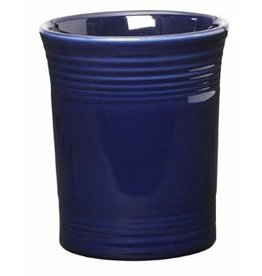 "Utensil Crock 6 5/8"" Cobalt Blue"