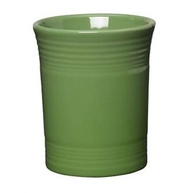 "Utensil Crock 6 5/8"" Shamrock"