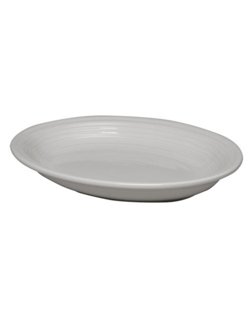 "Medium Oval Platter 11 5/8"" White"