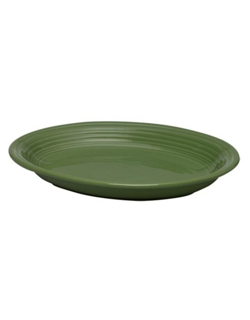"Medium Oval Platter 11 5/8"" Shamrock"