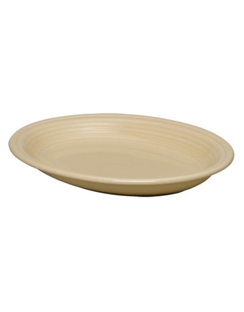 """Medium Oval Platter 11 5/8"""" Ivory"""