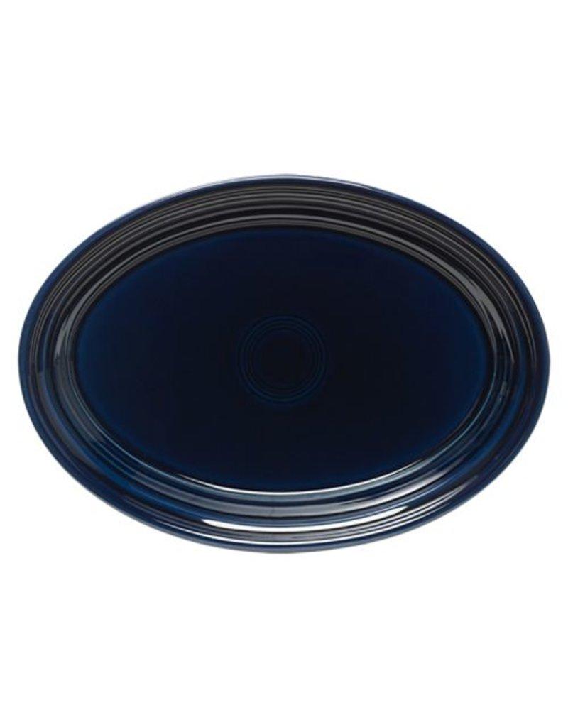 """Small Oval Platter 9 5/8"""" Cobalt Blue"""